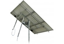 Solar Tracker SM44M1V3P 2-axis with backstructure for 3 panels (0,9 kWp)