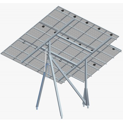 Solar Tracker SM4TM3V17P-30S 1-axis with backstructure for 17 panels (4,1 kWp)