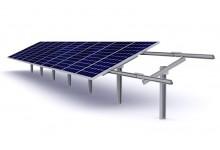 30 kW saulės elektrinė ant žemės