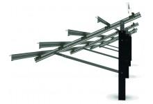 Schletter FS Uno vienos atramos saulės modulių ant žemės montavimo sistema