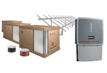 30 kW saulės elektrinės komplektas, su Canadian Solar moduliais