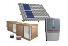30 kw saulės elektrinės komplektas, pagamintas Europoje