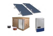 10 kw integruotos saulės elektrinės komplektas, pagamintas Vokietijoje