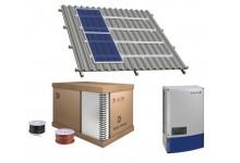 10 kw  saulės elektrinės komplektas, pagamintas Vokietijoje