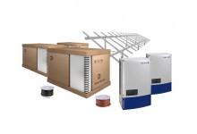 30 kW saulės elektrinė ant žemės ( įranga + sumontavimas )
