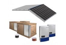 30 kW integruota saulės elektrinė ant stogo ( įranga + sumontavimas )