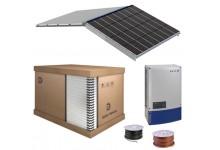 10 kw europinė saulės elektrinė, integruota į stogą. Garantija 25 m.