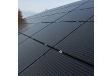 Nuožulnaus stogo Remor fotovoltinių modulių montavimo konstrukcija