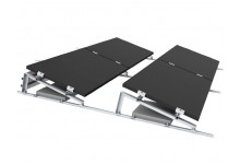 Flat Roof Remor PV Mounting