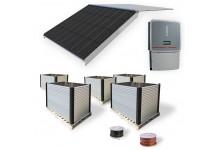 30 kw Mono Black integruota saulės elektrinė. Garantija 10 m.
