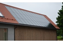 10 kw integruota saulės elektrinė su ES parama tik 5600  €.