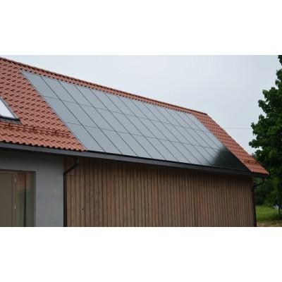 Aukščiausios kokybės 10 kw integruota saulės elektrinė