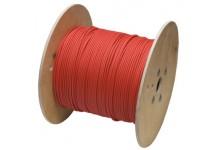 Cilindrinis kabelis Solar 1x4 mm2. Raudonas