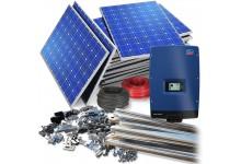 10 kW saulės elektrinė su dvipuse apskaita - 6700 €. VOKIŠKA !!!