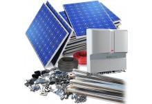 10 kW saulės elektrinė su dvipuse apskaita - 5400 €.
