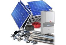 5 kW saulės elektrinė su dvipuse apskaita - 3000 €