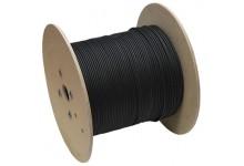 Saulės elektrinių kabelis Solar 1x4 mm2. Juodas. 300m.