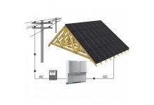 10 kw saulės elektrinė su dvipuse apskaita. NEMOKAMAS modulių suintegravimas.