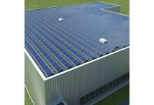 5 kW saulės elektrinė ant horizontalaus stogo