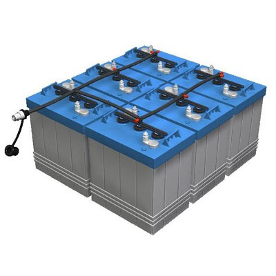 Solar Power Systems Battery (2v100Ah)