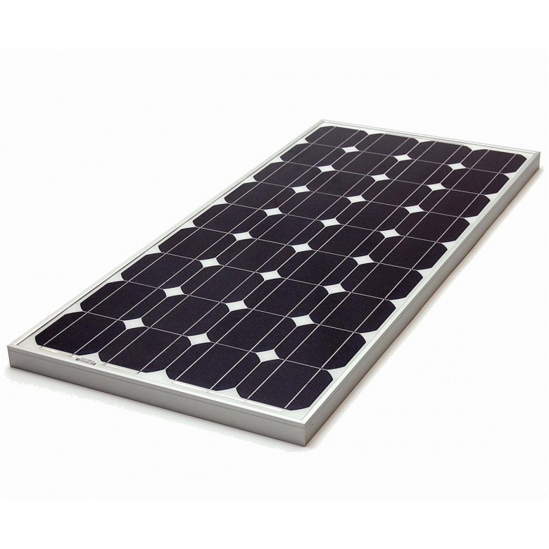 12v 80w Monocrystalline Solar Panel Rigid Baltic Solar
