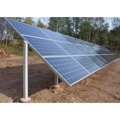 Nuosavas saulės elektrinės parkas 30% pigiau.