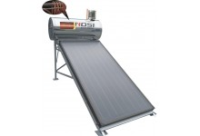 Pre-Heated Flat Plate Solar Water Heater