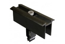 Schletter Rapid 2+ 40-50mm Middle Clamp - Anodized Black