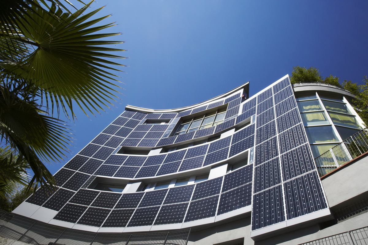 Fotoelektriniai moduliai integruoti į pastatus - BIPV